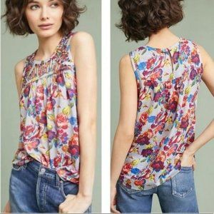 NWT - Anthro Ranna Gill Faye Floral Top